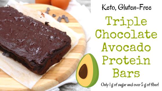 Triple Chocolate Avocado Protein Bars My Crash Test Life