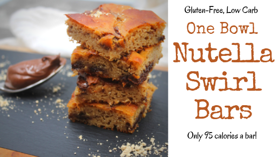 Gluten Free Nutella Swirl Bars My Crash Test Life