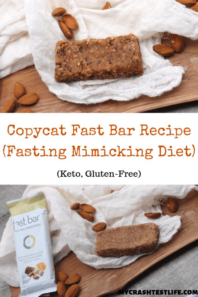 Copycat Fasting Mimicking Fast Bar (Healthy, Paleo, Keto